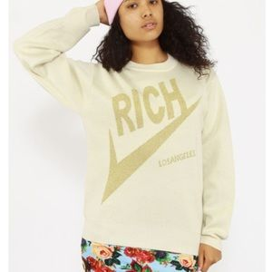 Joyrich LA Knit Rich Long Sleeve Oversized Sweater